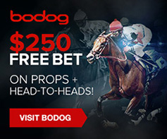 Bet with Bodog : $250 Free Bet on Props + Head-to-Heads!